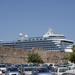 Rodosz - óváros - parkoló autóknak, hajóknak