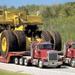 Liebherr T 282B a világ legnagyobb teherautója 2 tréleren
