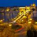 Budapest Lánc-híd este