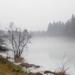 Köd és tükröződés a jégen