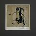 001 - Ádám Judit - Kalligráfia I, 1967. 16x16cm - Papír-olaj 4-0