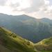 Transzfogarasi út - a hágó másik oldala